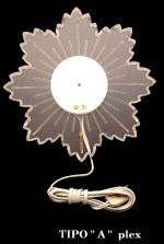Aureola con raggi illuminati