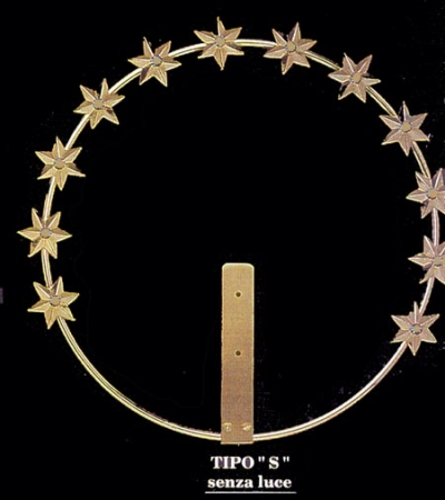 Aureola con stelline
